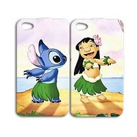 Funny Disney Lilo and Stitch Cute Phone Case iPhone iPod Best Friend Cool Fun