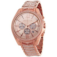 Original Michael Kors Whitney Chronograph Quartz Crystal Ladies Watch MK6730