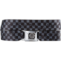 Buckle-Down Chevy Weathered Checker Buckle Belt Black/Grey One Size For Men 19553712701