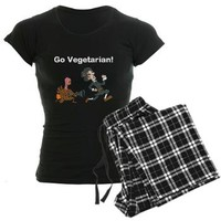 Go Vegetarian! pajamas> Autumn and Thanksgiving> LovelyDesigns4U2