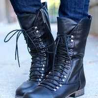 Westward Bound Boot - Black