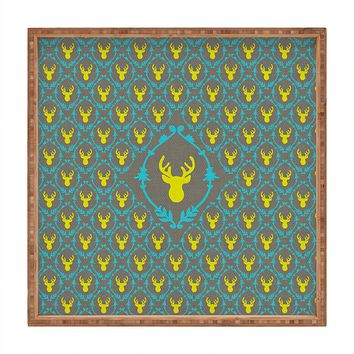Bianca Green Oh Deer 3 Square Tray