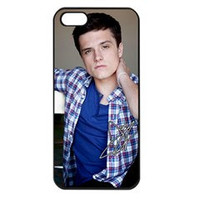 Josh Hutcherson iPhone 4/4s Case Cover Seamless Snap-On for Protection 03