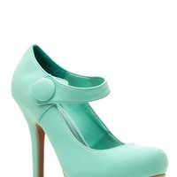Bamboo Spring Fling Mint Classic Pumps @ Cicihot Heel Shoes online store sales:Stiletto Heel Shoes,High Heel Pumps,Womens High Heel Shoes,Prom Shoes,Summer Shoes,Spring Shoes,Spool Heel,Womens Dress Shoes