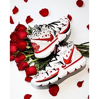 Sneaker Room x Nike Kyrie 5 I Love You Mom White Red Basketball Shoes