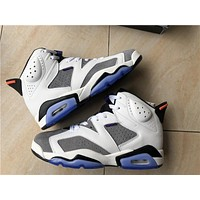 "Air Jordan 6 ""Flint"" Men Basketball shoes"