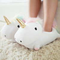 UNICORN LIGHT UP SLIPPERS - PRE ORDER