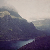 Mountain Song -50% off STOCK SALE 5x7 print, Island of Moorea Travel Photography
