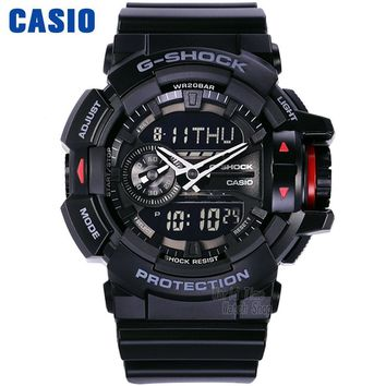 Men Casio Multi-Functional Double-Display Watch