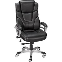 Staples Baird Bonded Leather Managers Chair, Black | Staples®