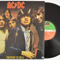 "AC/DC - ""Highway To Hell"" vinyl record"