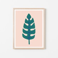 Palm Leaf Print   Brit + Co. Shop   DIY Online classes, DIY kits and creative products from makers you'll love.