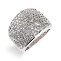 Women's Ariella Collection Pave Ring