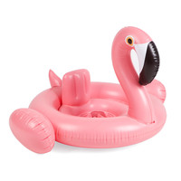 Baby Swimming Ring Donut Seat Inflatable Flamingo Swan  Pool Float Baby Summer Water Fun Pool Toy Kids Swimming Pool Accessories