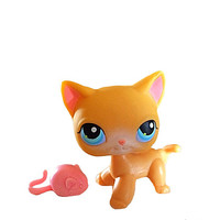 Littlest Pet Shop, Cat and Mouse Set, LPS Siamese Cat,  Lps Teensies, Lps Mouse, Lps Shorthaired Cat, Little Pets Easter, Lps On The Go, Toy