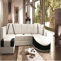 Luxury Cosenza U-Shaped Ultra Contemporary Sectional Sofa with Double Chaise