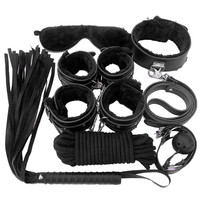 8 pcs Adult Restraints Fetish Bondage Kit