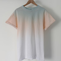 ANDCLOTHING — Pastel Midnight Dip Dye Tee