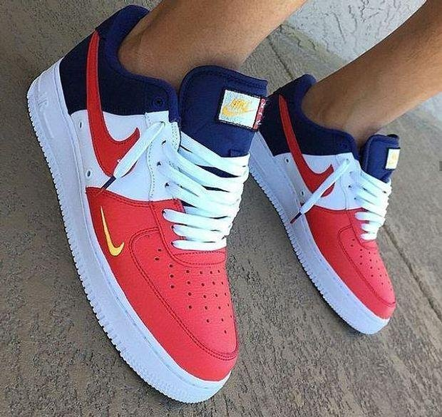 Image of Nike Air Force 1 Low Men's and Women's Fashion Sneakers Shoes