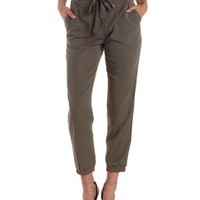 Lightweight Cargo Jogger Pants by Charlotte Russe