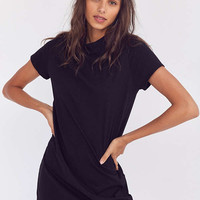 BDG Mock Neck Mini T-Shirt Dress | Urban Outfitters