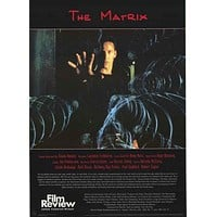 The Matrix Film Review Poster 24x34