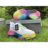 2019 Balenciaga Triple S Trainers Colorful 35-45