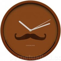 Things to have for a Room Makeover - This affordable mustache wall clock is an adorable way to decorate your room wall. It's natural color easily complements with other hues and exudes a comfortable, stable, and calm effect in your space.
