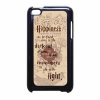 Harry Potter Marauders Map Quote iPod Touch 4th Generation Case
