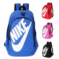 """Nike"" Fashion Letters Sports backpack (7 color) Sapphire Light blue"