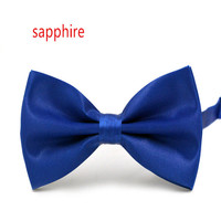 Men Women solid color burst casual adult number of multicolor wedding Korean version of the Bow Tie D-22