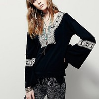 Free People Womens Santa Maria Pullover