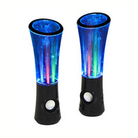 Boom2o Speakers with Sound Responsive Water & Light Show