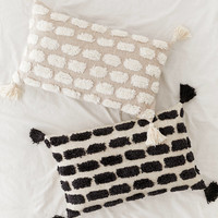 Tilly Tufted Tassel Bolster Pillow | Urban Outfitters