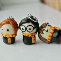 Harry Potter necklace (3 pendants)