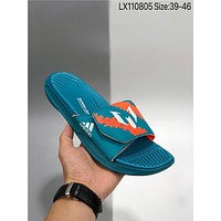 New Adidas izamo cheap Men's and women's nike Slippers Beach shoes