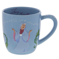 Disney Parks Fairy Godmother Even Miracles Take a Little Time Coffee Mug New