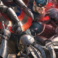 Avengers Age Of Ultron Captain America MightyPrint