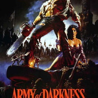 Army of Darkness Movie Art Poster 24x36
