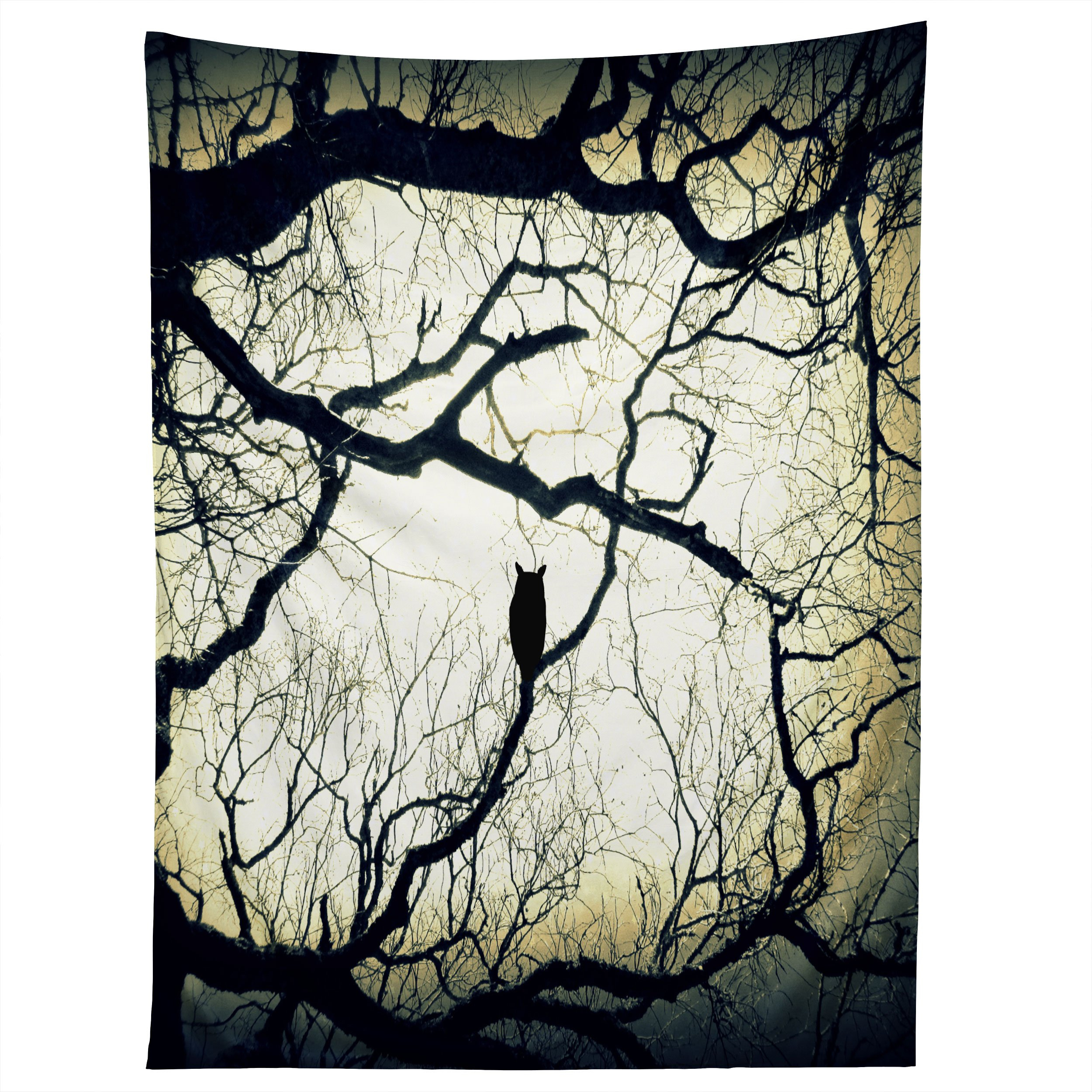 Image of Shannon Clark Mysterious Woods Tapestry