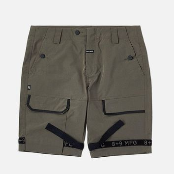 Strapped Up Shorts Rip Stop Olive