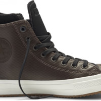 Converse Chuck II Waterproof Mesh Backed Leather Dark Chocolate / Black-Egret White