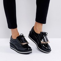 Bershka Chunky Loafer at asos.com