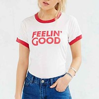 Camp Collection Feelin Good Ringer Tee