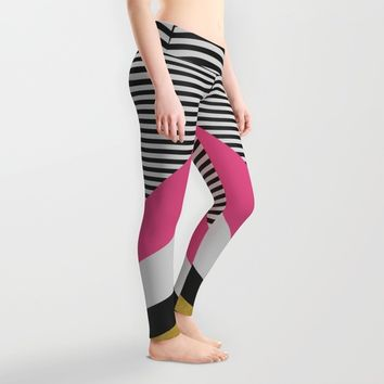 Pretty in Pink Leggings by Elisabeth Fredriksson