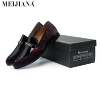 Handmade leather Men Loafers