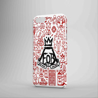 Fall Out Boy Band Fans Page iPhone 5 Case