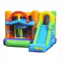 Double Shot Inflatable Bounce House