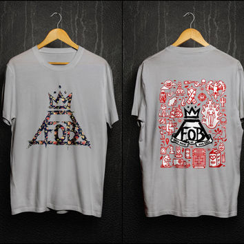 Fall Out Boy Art Design for T-Shirts (Front and Back )