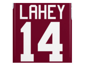 Isaac Lahey Jersey - white text